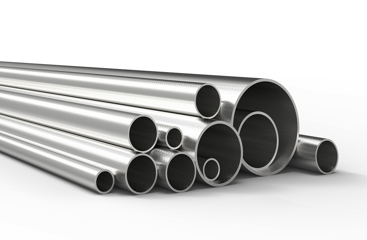 Different sized steel tubes in the Philippines