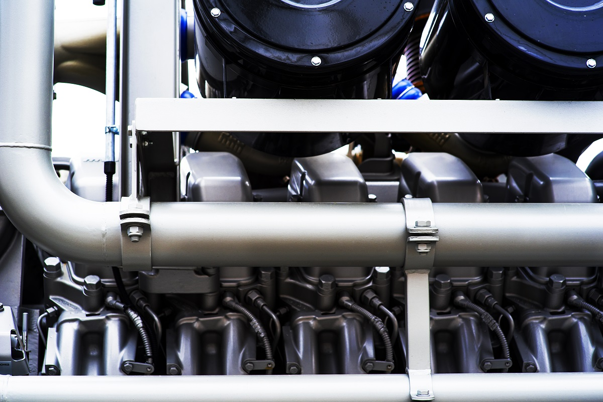 coiled tubing machine to work in the oil fields close up
